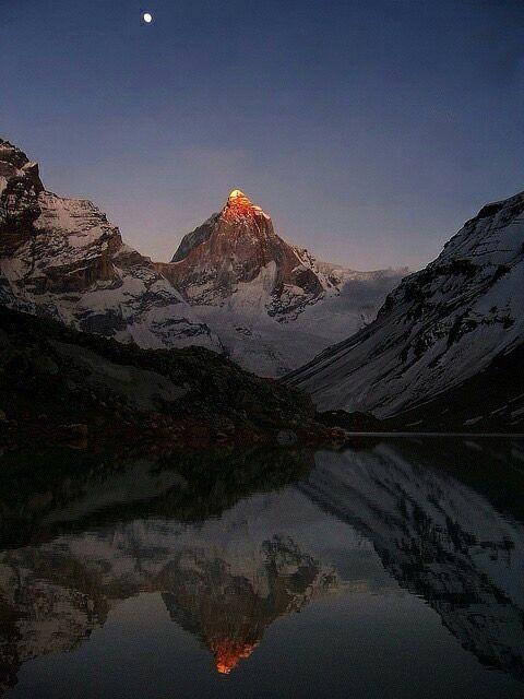 Kedar tal , Gangotri Range of Western Himalayas, Uttarakhand