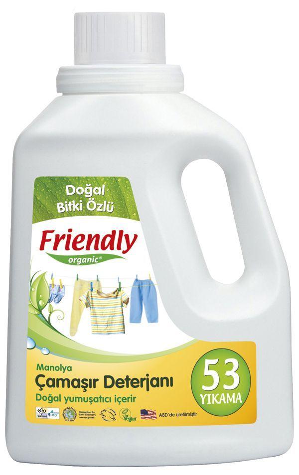Friendly Organic Hassas Ciltler İçin Çamaşır Deterjanı Manolya 2 ADET 1.57 Lt #bebek #alışveriş #indirim #trendylodi  #anne #bebekbakım #bebekbakımürünleri #bakım