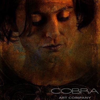 IF YOU LEAVE - Fashion & Faces Photography on plexiglass Cobra Art Company #ALAIN #DELVOYE #cobra #art