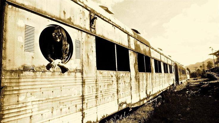 Estacion del tren de la Sabana de Bogota, Colombia.