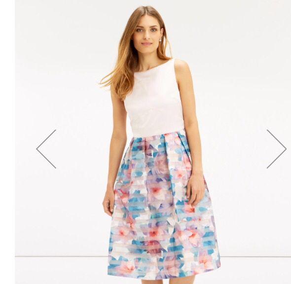 Gorgeous Oasis organza dress