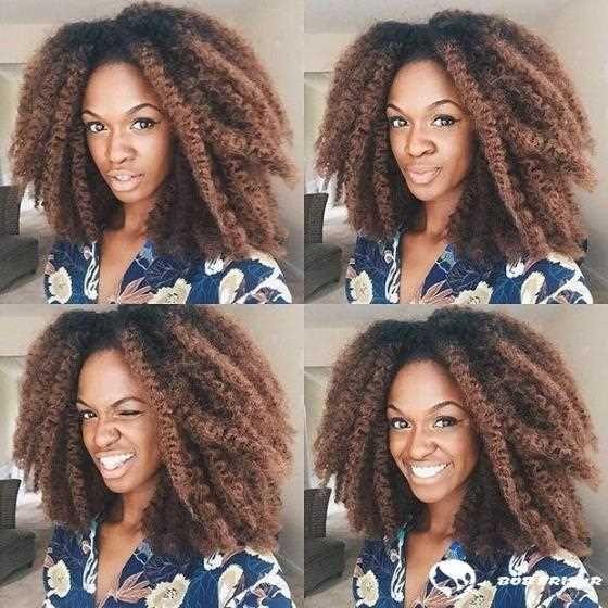 10 Chic Crochet Braid Frisuren für schwarze Haare 2019-2020 - Frisuren Ideen Frauen