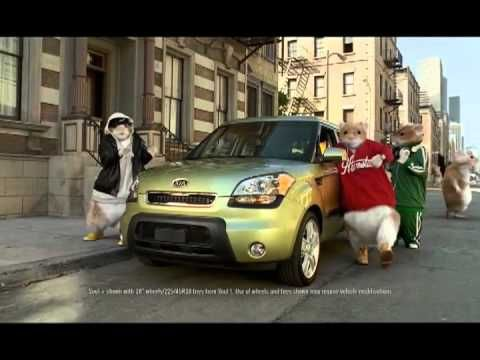 2010 Kia Soul Hamster Commercial Black Sheep Kia Hamsters Video