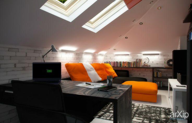 Подростковая, чиллаут: интерьер, квартира, дом, современный, модернизм, комната отдыха, зона отдыха, 10 - 20 м2 #interiordesign #apartment #house #modern #lounge #sittingarea #10_20m2