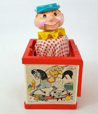Fisher Price Jack in the Box 1970