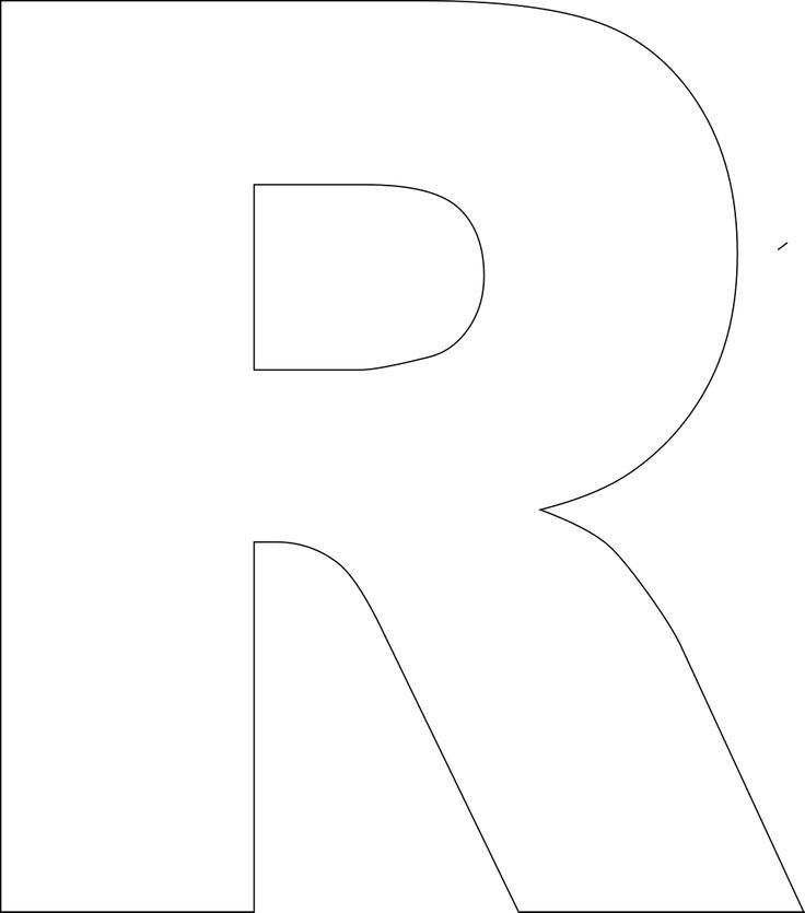 It's just an image of Luscious Letter R Printable