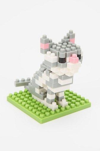 Nano Blocks - Cat