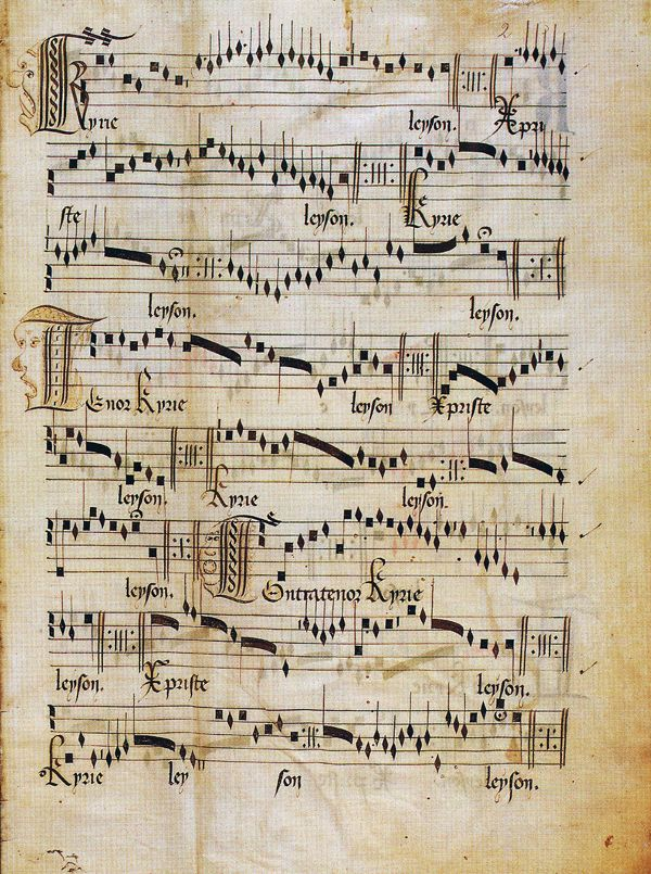 Guillaume Dufay ~ Kyrie