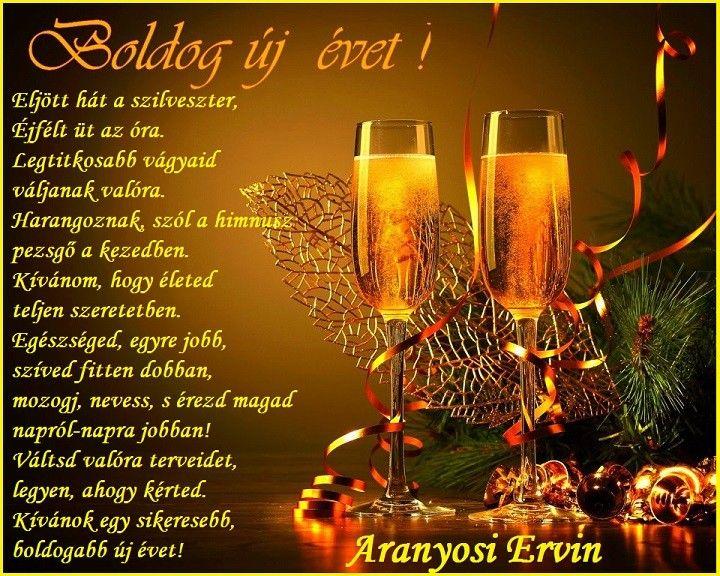 Aranyosi Ervin: Boldog új évet - MindenegybenBlog