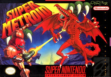 Super Metroid box art #snes #nintendo