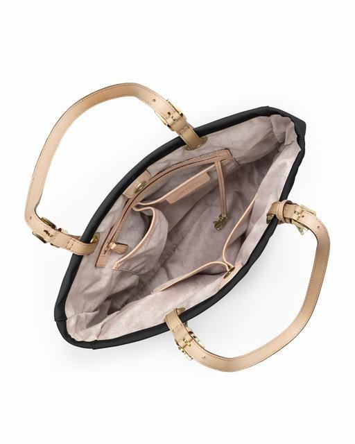 Michael Kors Jet Set Monogramm Patent Tote Schwarz Patent 0 #bags#jewellery|#jewellerydesign}