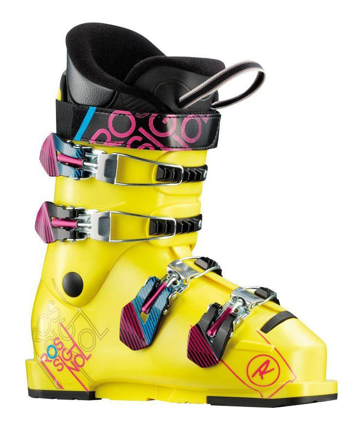 Rossignol TMX 60 Ski Boots Yellow Mens