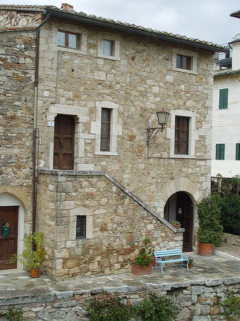 Typical Tuscany house - Bagno Vignoni