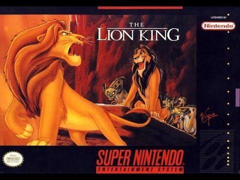 TOP 25 SNES / SFC | DISNEY´S LION KING / EL  REY LEON (VIRGIN INTERACTIV...