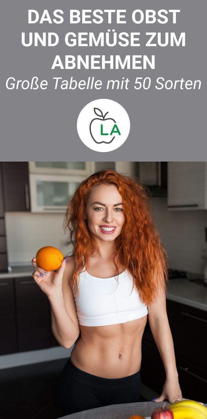 Das beste Obst und Gemüse zum Abnehmen