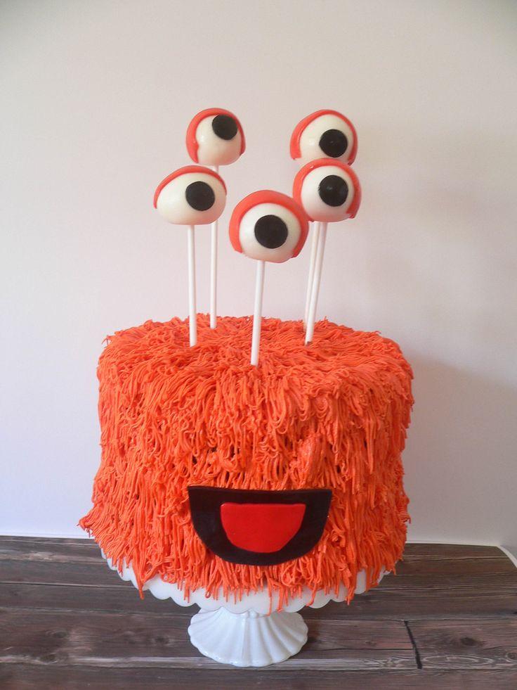 Monster Birthday Cake by Cake Corner Cakes Hobart