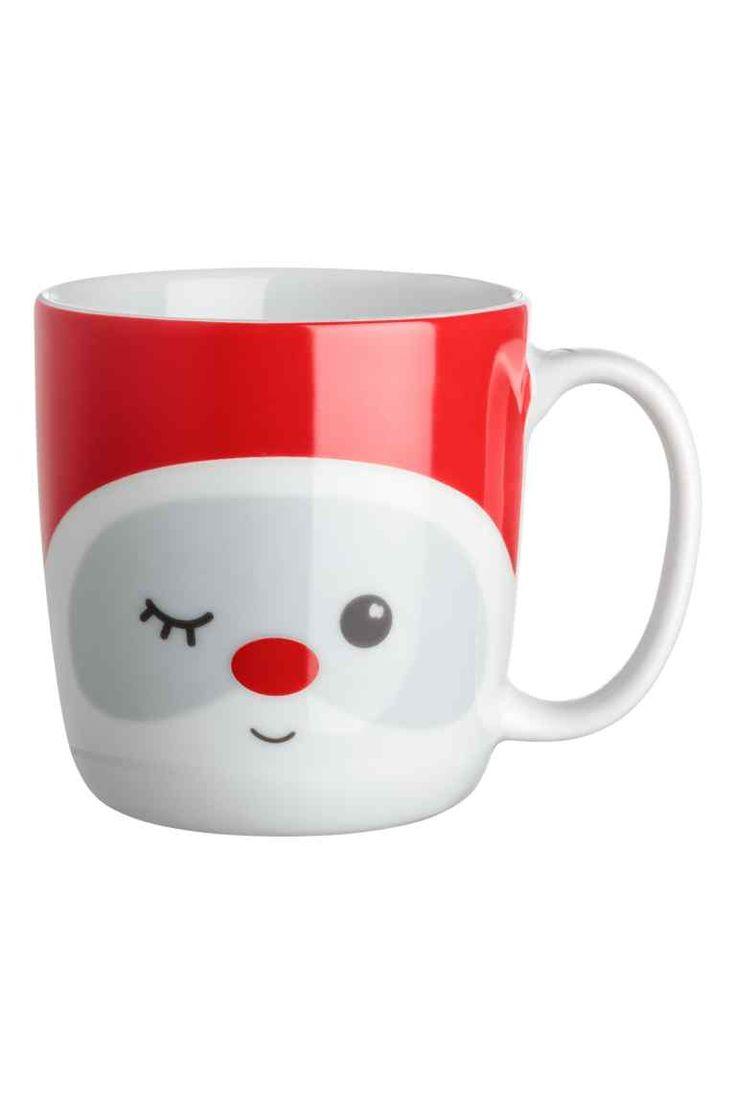 Mug - White/Christmas elf - Home All | H&M 1