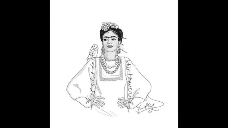 Making of: Frida Kahlo Illustration