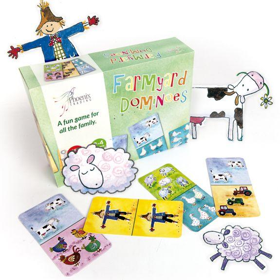 Farmyard Dominoes Orchard Games  www.phoenixcardstracy.co.uk Phoenixcardstracy@gmail.com
