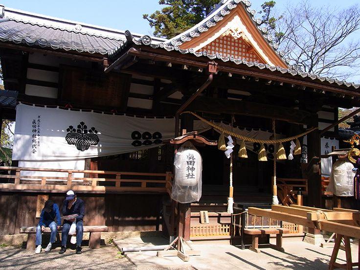 真田城にある、真田神社