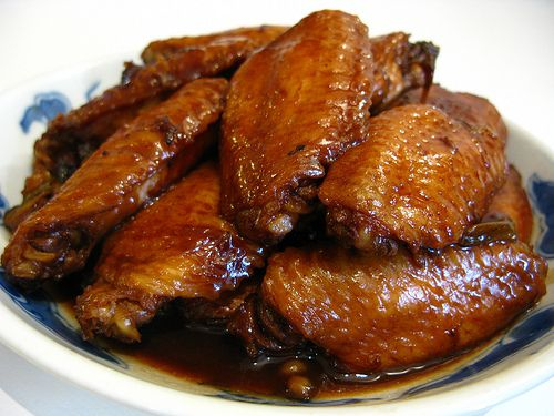 chinese, Soy Sauce, Red Cooked, Chicken Wings, recipe, 紅燒, 雞翼,