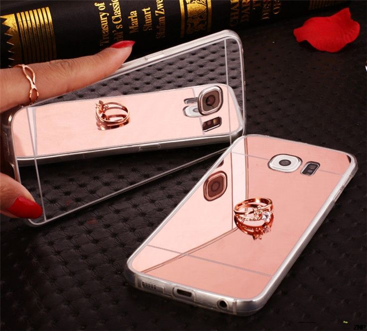 Plating Mirror Soft TPU Back Case Cover For Samsung Galaxy S7 S6 S5 Note3/4/5 A3 A5 A7 J3 J5 J7 2016 S3 S4 Edge Phone Cases
