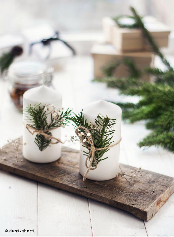 adventskranz minimalistisch kerzen tannenzweige selber basteln x 39 mas pinterest. Black Bedroom Furniture Sets. Home Design Ideas