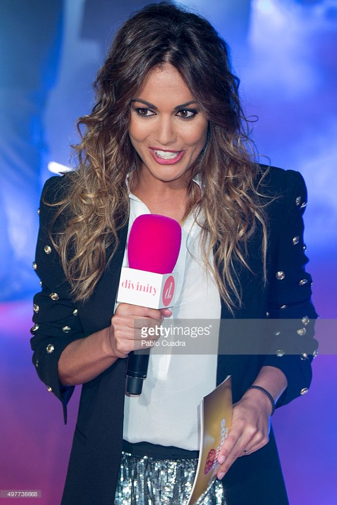Lara Alvarez attends the 'Ocho Apellidos Catalantes' Premiere at capitol Cinema on November 18, 2015 in Madrid, Spain.