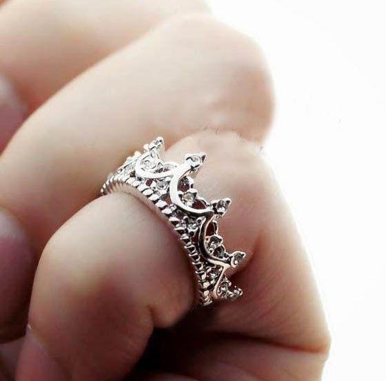 Queen Crown Ring