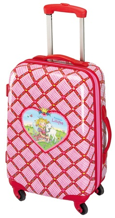 Princess Lillifee 4 wheel trolley case   30218