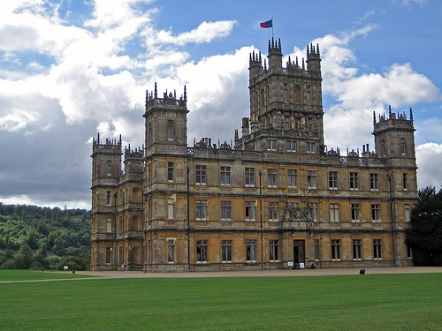 Highclere Castle. Many of us know it in a different role...