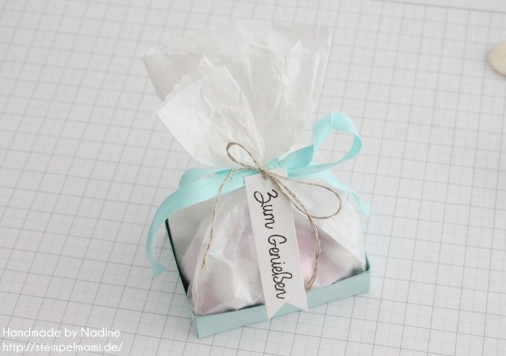 Stampin Up Anleitung Tutorial Box Goodie Give Away Schachtel 046