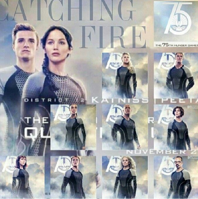Catching fire tributes cast