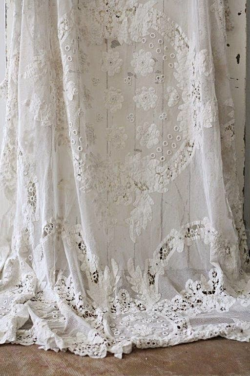 lace miniature house curtains p curtain rail off dolls s scale on white