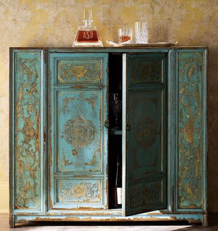 Painted Cabinet 249 best turquoise painted furniture images on pinterest