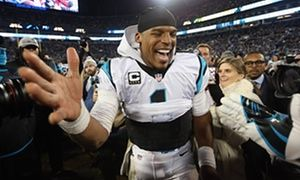 Cam Newton: 'I'm an African American quarterback that may scare some people' Carolina Panthers QB has come under fire for celebrations Newton will lead team in Super Bowl against Denver Broncos