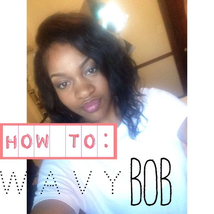 How To: Wavy Sew in Bob sew In | how I cut my Bobs