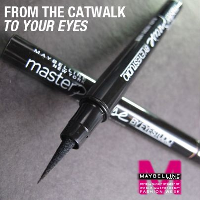 Lead makeup artist for @MaybellineCAN @graceleebeauty's must-have eyeliner for this Spring!