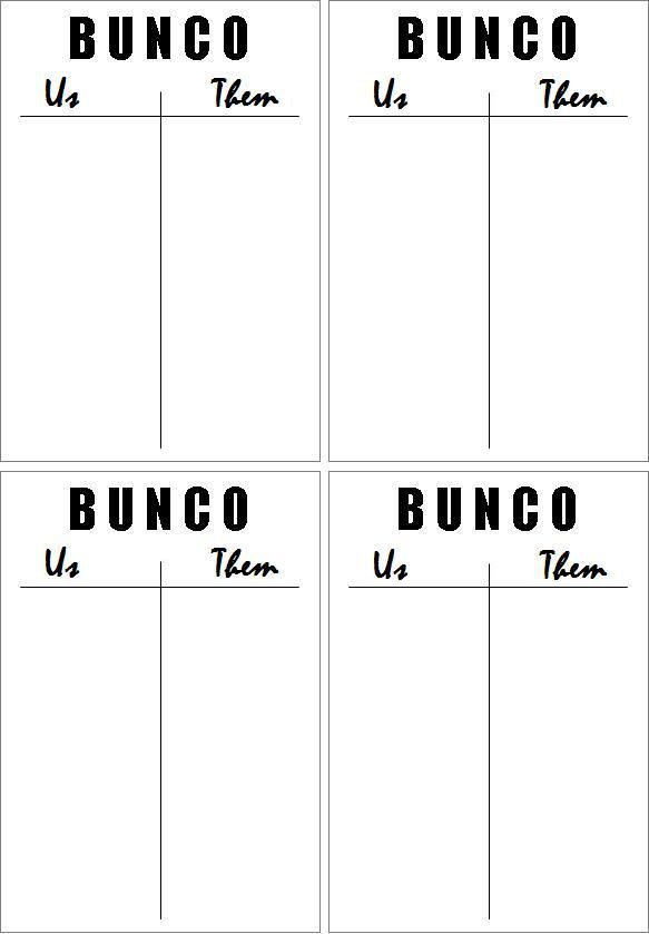 76 best BUNCO! images on Pinterest Bunco ideas, Bunco party and - bunco score sheets template
