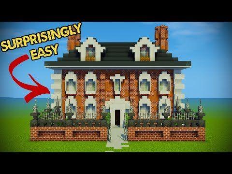 Minecraft Georgian House Tutorial - Minecraft Servers View
