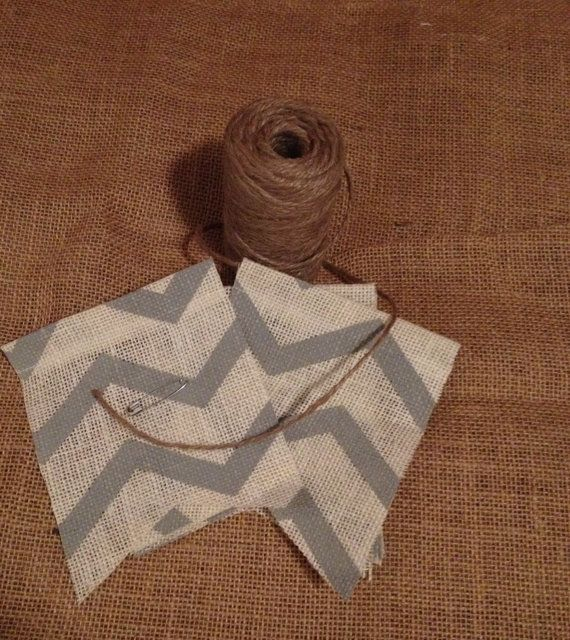 7 best do it yourself images on pinterest burlap banners create diy chevron burlap banner kit create your own solutioingenieria Image collections