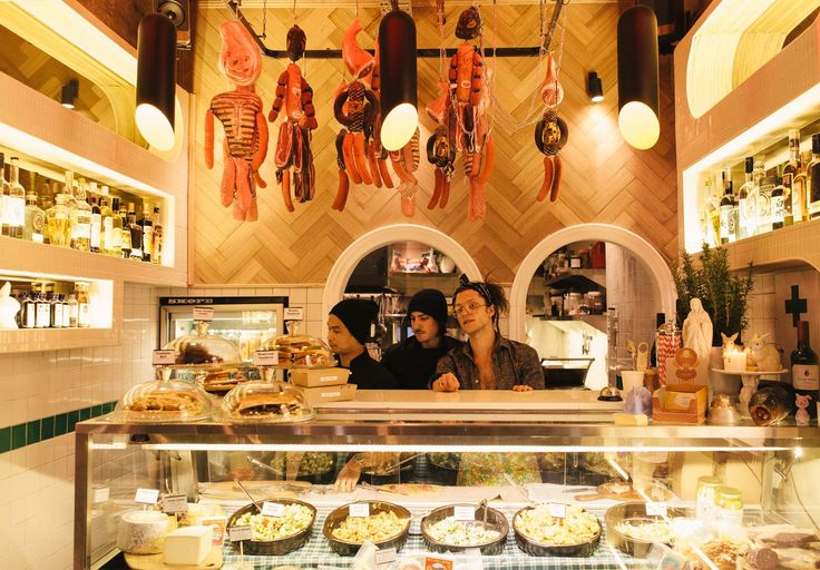 Chuckle Deli: A Salad Bar by New Guernica and Chuckle Park