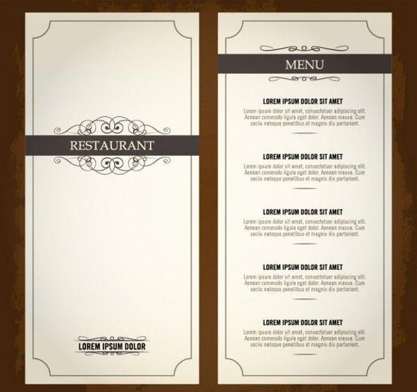 19 Vintage Menu Templates Ai Pages Psd Docs In 2020 Menu Restaurant Restaurant Menu Template Menu Design Template