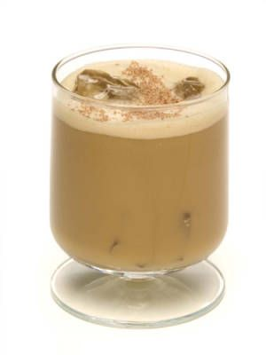 Celebrate National Coffee Day (tomorrow!) with a coffee cocktail! Chocolate Mocha Latte #recipe