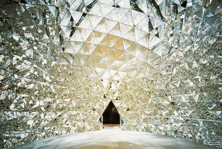 Did you know you can get married inside the Swarovski Crystal Dome at Swarovski's Kristalwelten in Austria?