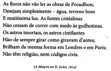 citação A Morte de D. João