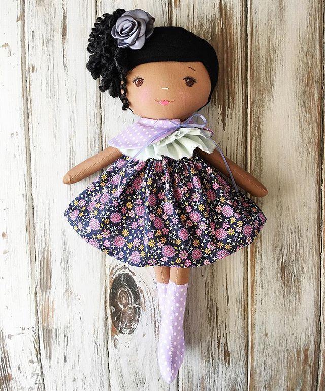 SpunCandy Doll #spuncandydolls #handmadedolls #bespokedoll #customorder #nycbound #headingtobrooklyn #africanamericandoll