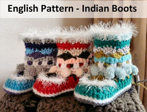 Engels Patroon - Indian Boots