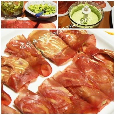 A different idea!    http://www.svolazzi.it/2012/12/involtini-di-bresaola-e-zucchine.html