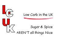 Menus for slow losers.  Low Carb in the UK